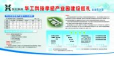华北科技展板图片