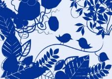 花纹藤蔓笔刷图片