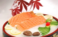 刺身三文鱼图片