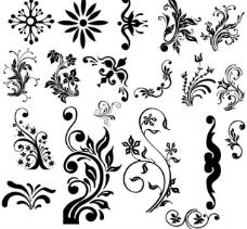 花纹笔刷图片