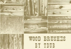 高清晰木质底纹笔刷图片
