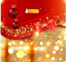 动感梦幻圣诞背景图片