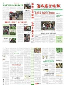 义乌农贸城报2011年7月刊图片