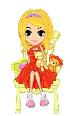 可爱公主图片