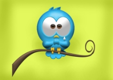 3D小鸟图片