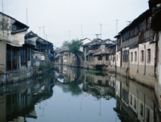 江南小桥流水人家风景图图片