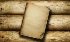 木纹 木板 旧书图片