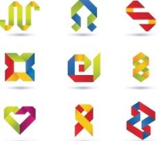 折纸图标标志图片