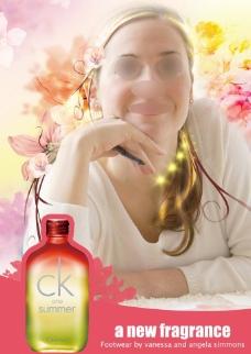 化妆品杂志广告图片