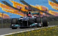 F1赛车比赛图片