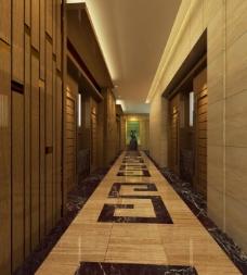 酒店走廊图片