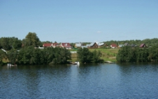伏尔加河畔风光图片