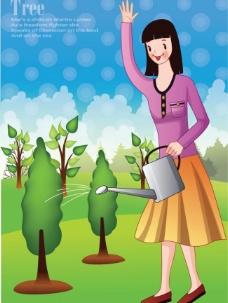 植树节图片