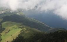 瑞士山景图片
