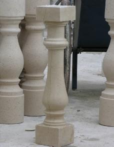 石材花瓶柱图片