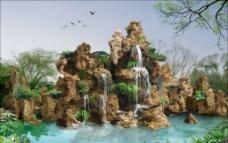 假山钟乳石图片