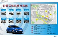 上海大众4S店试乘试驾流程图片