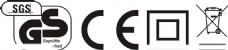 GS认证CE认证回收图标垃圾桶标志