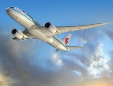 波音原版国航飞机图片