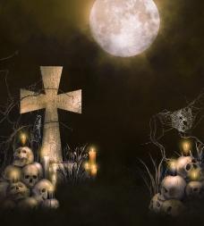 万圣节背景图片