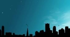 城市轮廓图图片