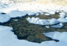 冬天的小河图片