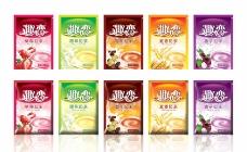奶茶包装设计图片