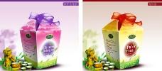 乌龙茶 普洱茶包装设计图片