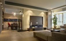 室内客厅效果图图片