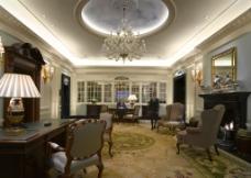 英国伦敦萨沃伊饭店接待室图片
