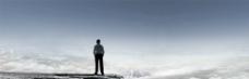 高山云海人为峰图片