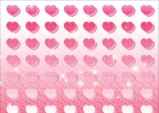 粉红小桃心图片