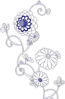 绣花图案图片