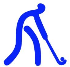 体育运动项目标识 曲棍球图片