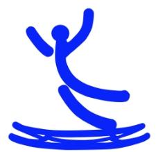 体育运动项目标识 蹦床图片