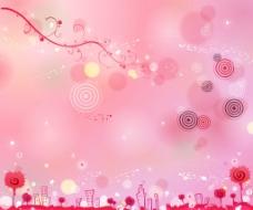 粉红世界图片