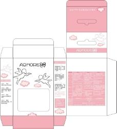 粉红彩盒图片