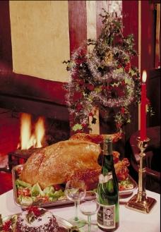 圣诞大餐图片