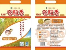 谷粒香油粘米袋图片