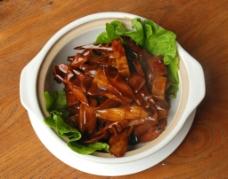 东坡烤竹笋图片