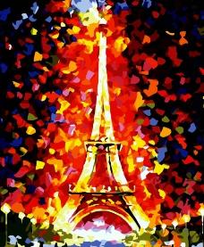 浪漫巴黎图片