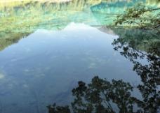 九寨沟 湖泊图片