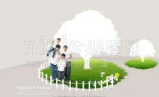 綠色環境海報圖片