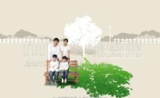 绿色环境海报图片