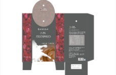 巧克力包装盒展开图图片