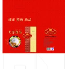 海产品礼盒图片
