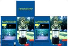 野营灯包装设计图片