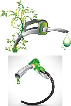 绿色加油喷嘴花纹图片