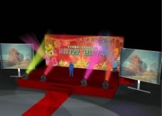 舞台效果图图片