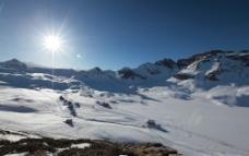 雪山高地图片